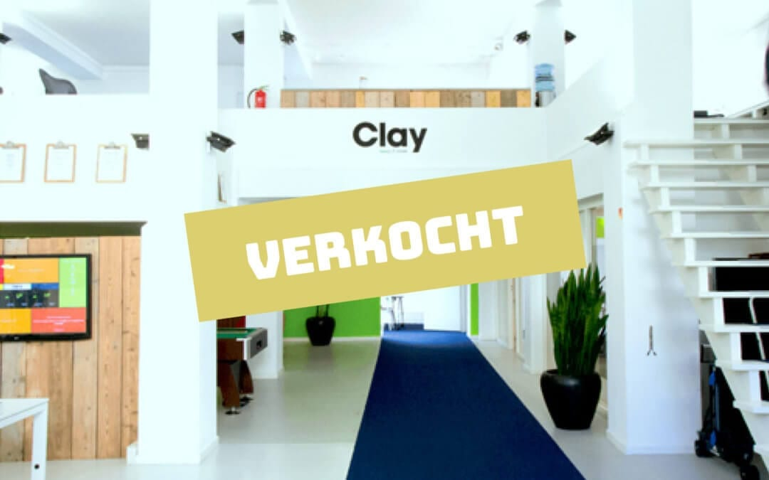 We verkochten ons belang in Clay